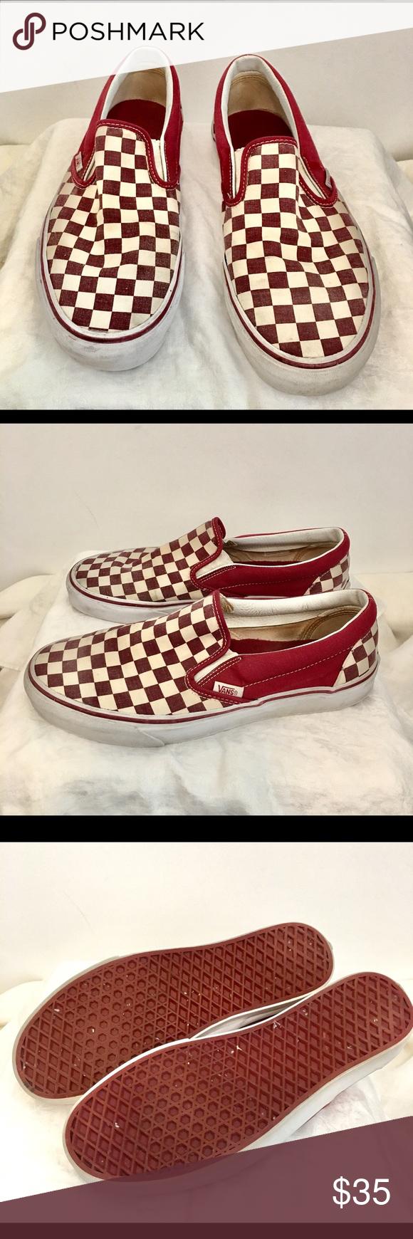 e633e8e79b1711 VANS Classic Slip-On Checkerboard
