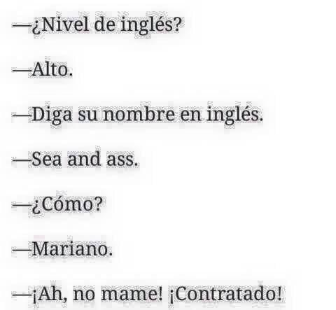 23 Personas Que Hablan Tan Mal Ingles Que Acabaron Ganando Chistes Groseros Chistes Mexicanos Memes Divertidos