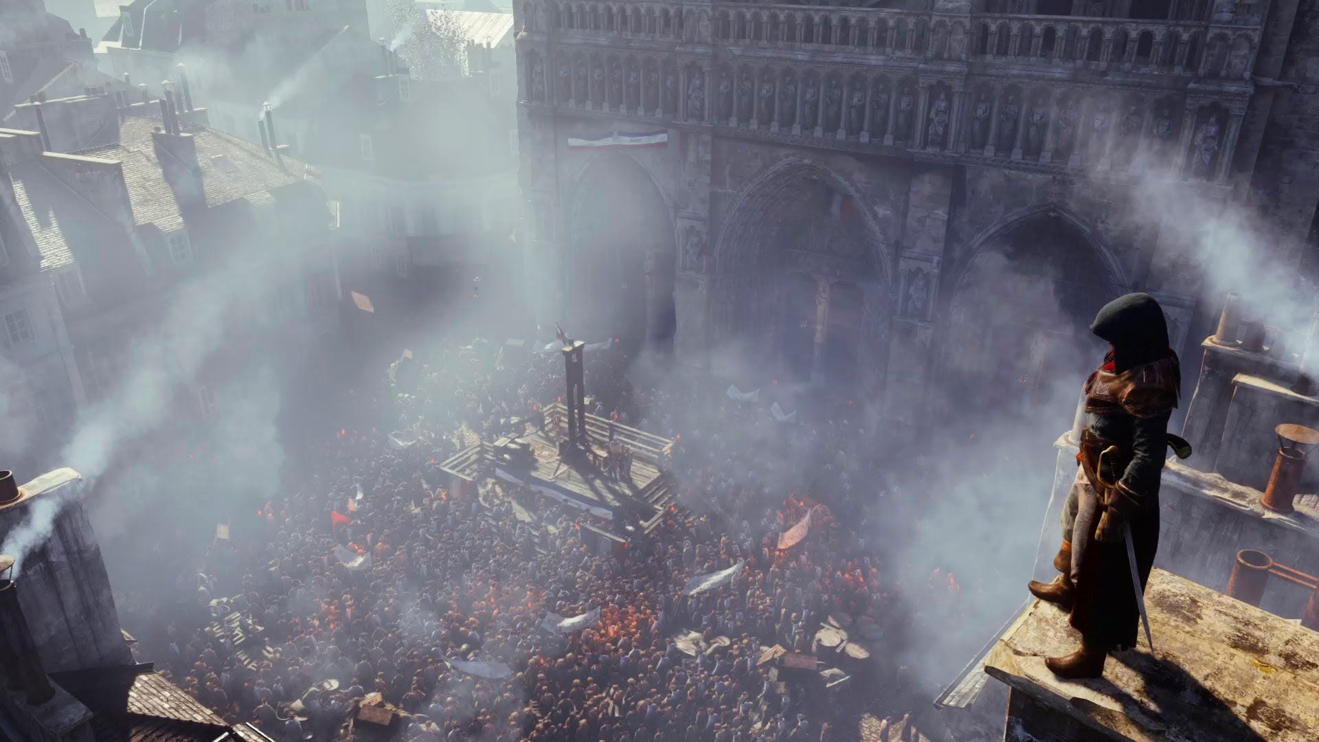 Assassin's Creed Unity Gameplay! This game looks ten times better than Black Flag! I cannot wait!