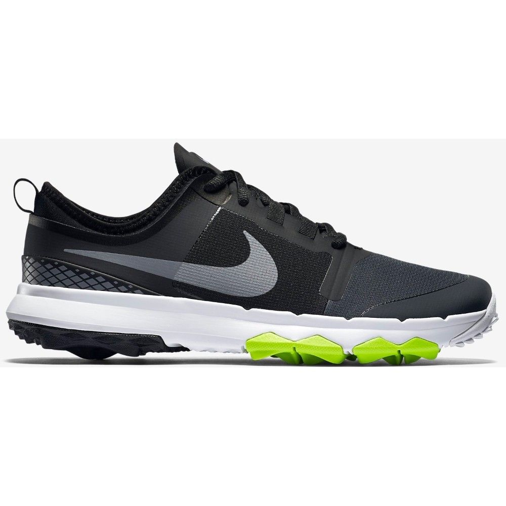 Nike Men's Fi Impact 2 Golf Shoe - Black/White/Grey - Men's -