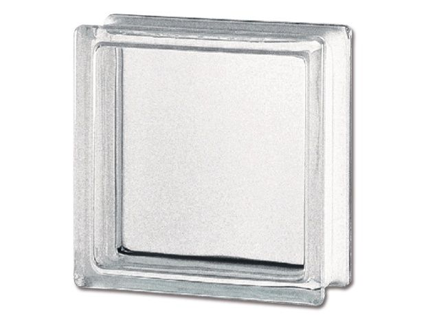 Glasbaustein Basic (Klar, Struktur: Glatt)