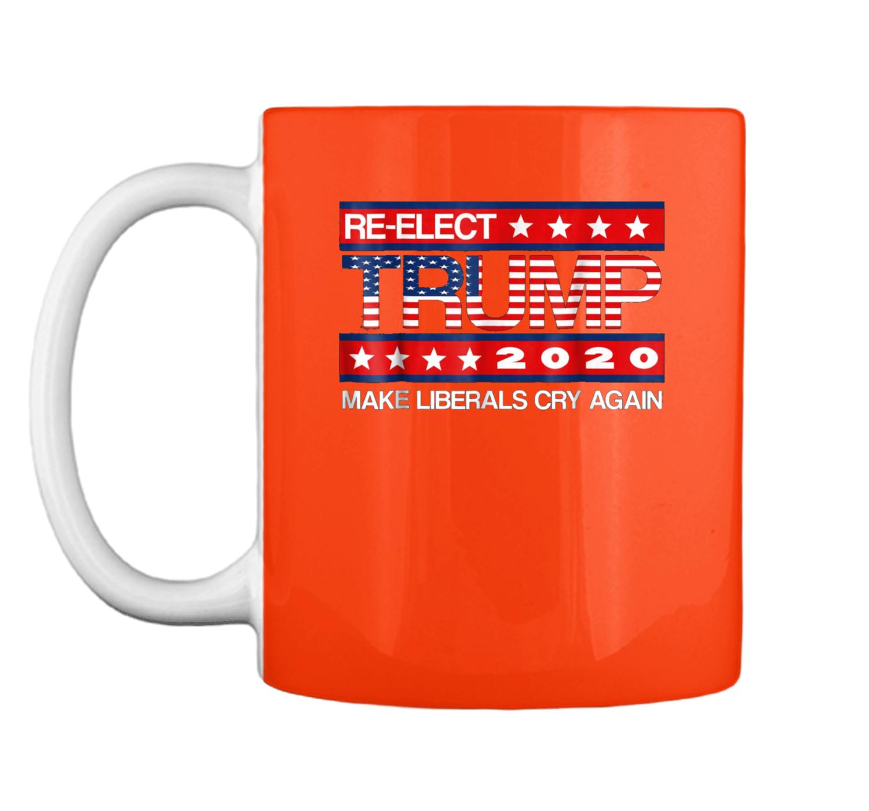 22d9a471005 Donald Trump Election 2020 Make Liberals Cry Again GOP Mug ...