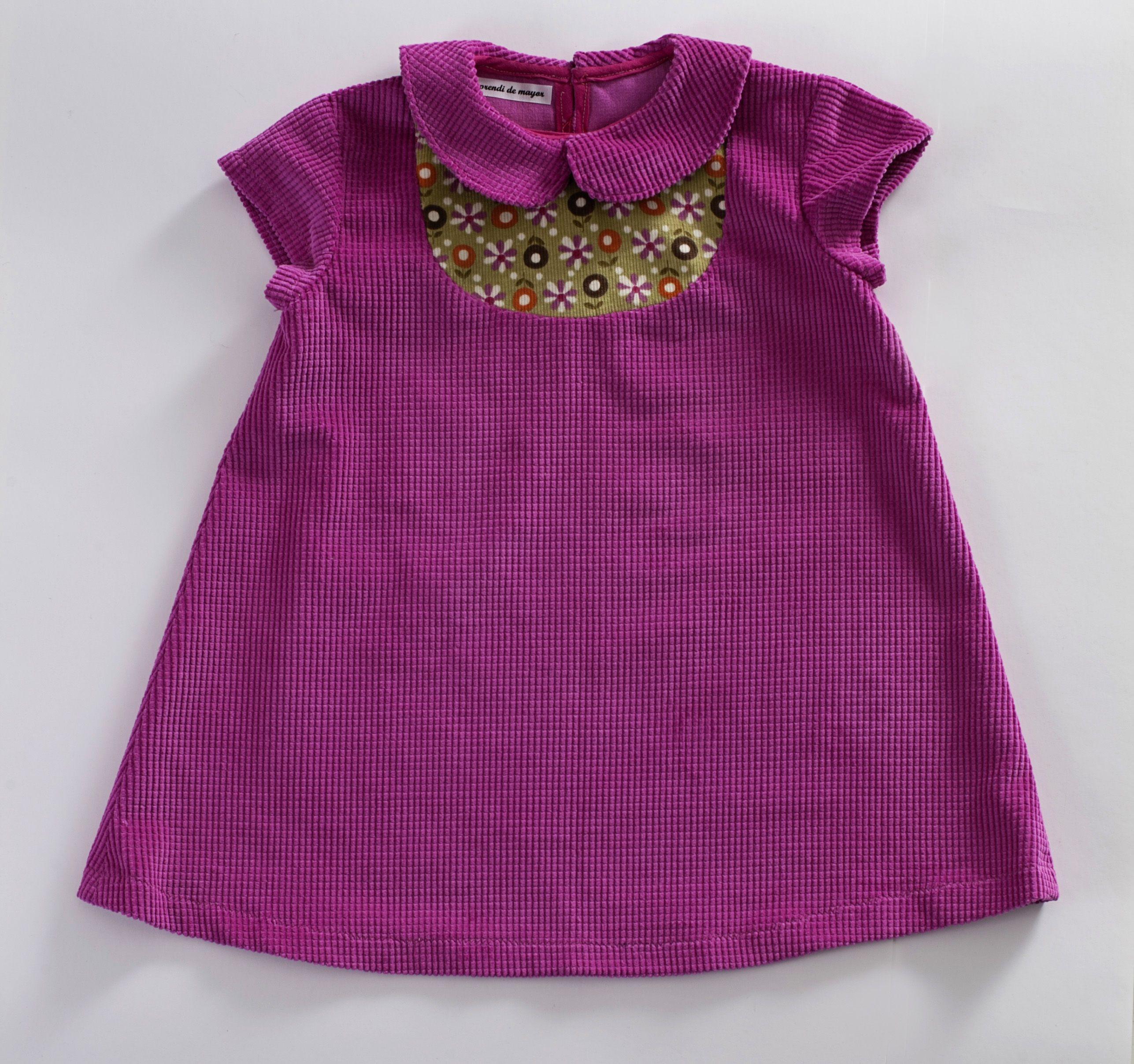 Vestido de panita fucsia disponible en la tienda online www ...