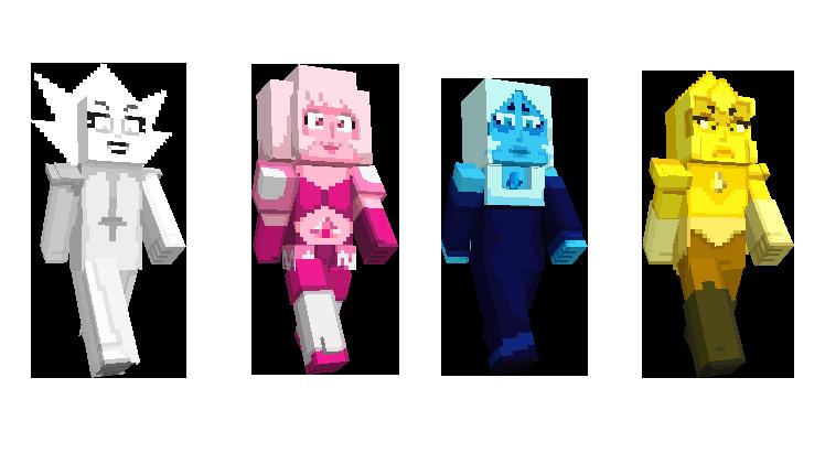 Steven Universe Mash Up Pack Minecraft Sirenas Steven Diamantes