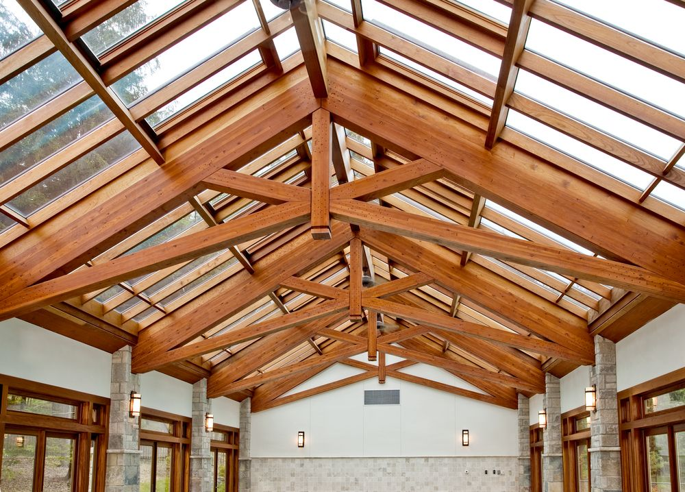 Best Glass Roof With Exposed Truss Support Glass Roof Roof 400 x 300