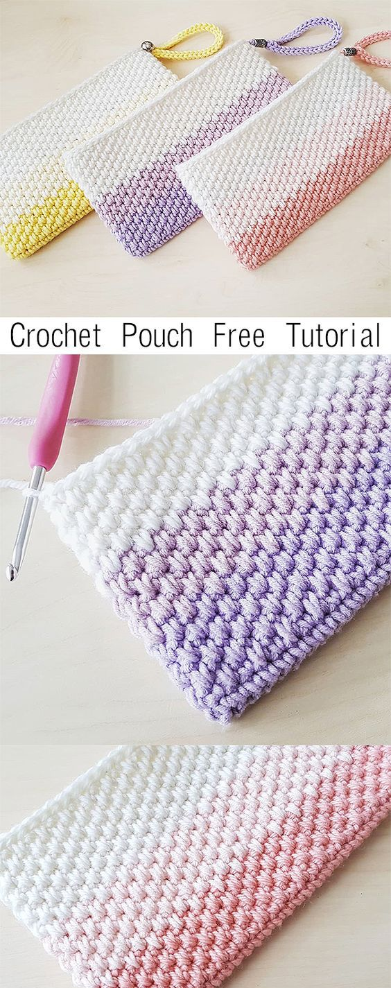 Photo of Crochet Simple Pouch Clutch