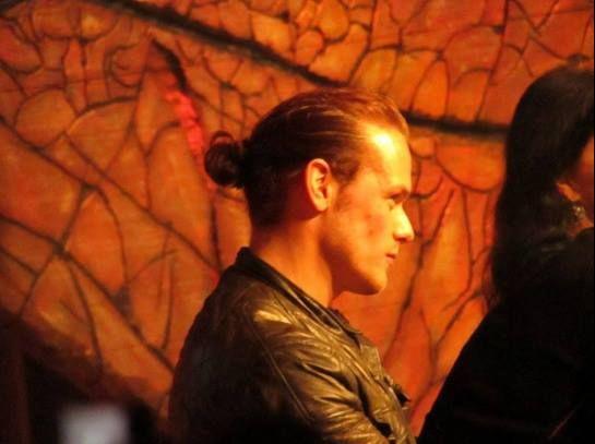 Sam Heughan at RingCon