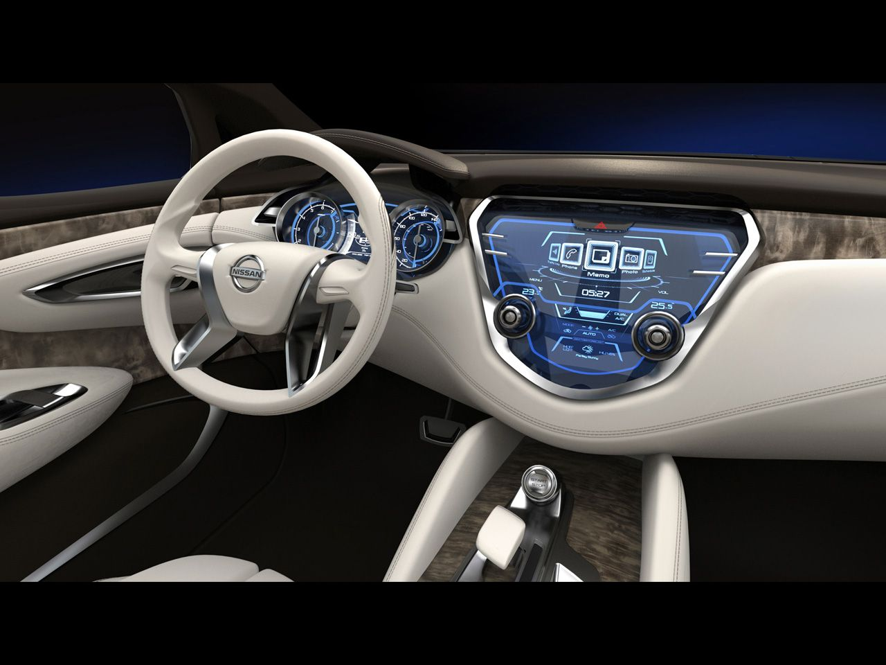2013 nissan resonance concept dashboard 1280x960 wallpaper
