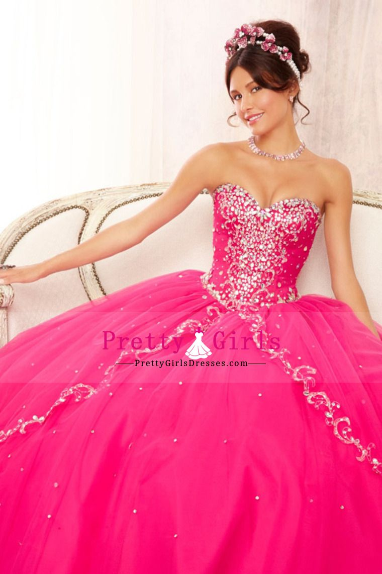 2014 Quinceanera Dresses Sweetheart Ball Gown Full Length With ...