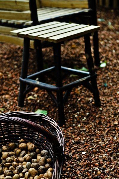 Tabouret en Châtaignier \'Peyrinches\'   Mobilier de Jardin   Pinterest