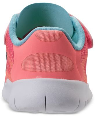 b49ef304912f Nike Toddler Girls  Free Run 2 Running Sneakers from Finish Line - Finish  Line Athletic Shoes - Kids   Baby - Macy s