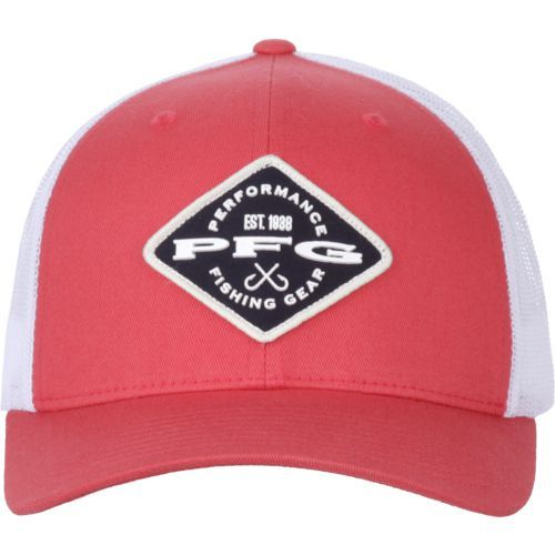 5a6213d3 Columbia Sportswear Men's PFG Mesh Snap Back Ball Cap (Red, Size One Size)  - Men's Outdoor Apparel, Men's Hunting/Fishing Headwear at Academy Sports
