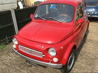 EBay RARE FIAT 500 1970 FRANCIS LOMBARDI MY CAR NOT BARN FIND CLASSIC