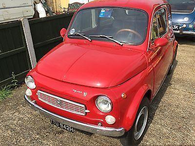 EBay RARE FIAT 500 1970 FRANCIS LOMBARDI MY CAR NOT BARN FIND CLASSIC