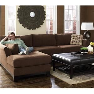 La Z Boy Sinclair 2 Piece Sectional With Chaise   Conlinu0027s Furniture   Sofa