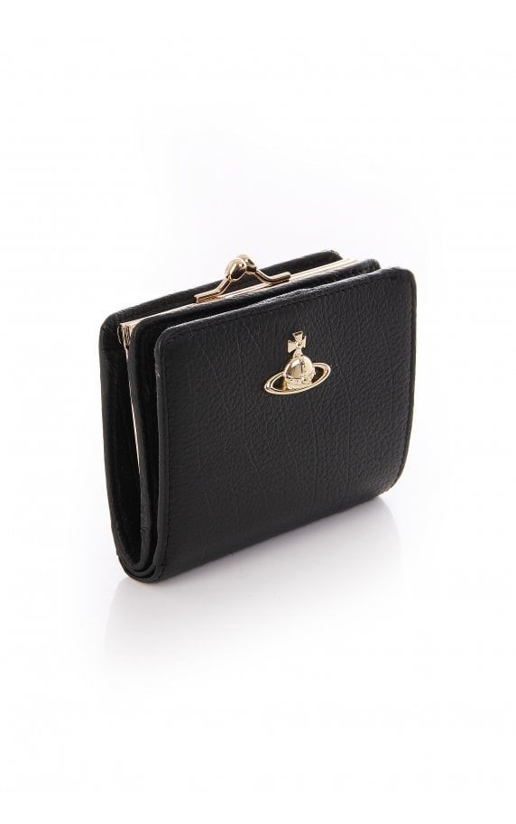 937a039b57e Vivienne Westwood Bags Balmoral Wallet With Frame Pocket Black ...