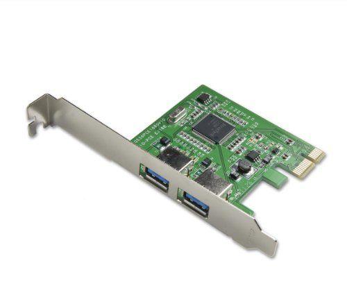 Syba Super Speed USB 3.0 PCI Express Card Series 2 Ports BRAND NEW