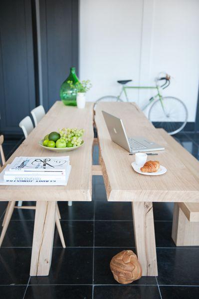 WOUD tafel van rossum - Huis | Pinterest - Eetkamer, Keuken en ...