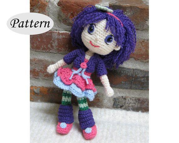 Amigurumi Doll Patterns : Plum pudding strawberry shortcake amigurumi pattern crochet