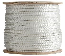 12 Strand Single Braid Polyester Rope Single Braid Shock Cord Marine Rope