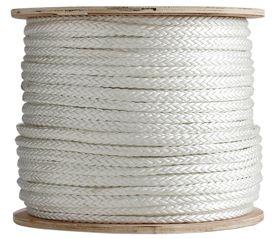 12 Strand Single Braid Polyester Rope Single Braid Shock Cord Marine Rope