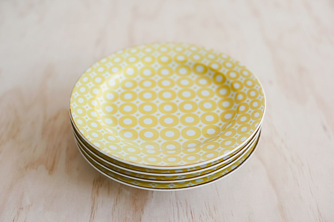 Yellow Side plate by The Source