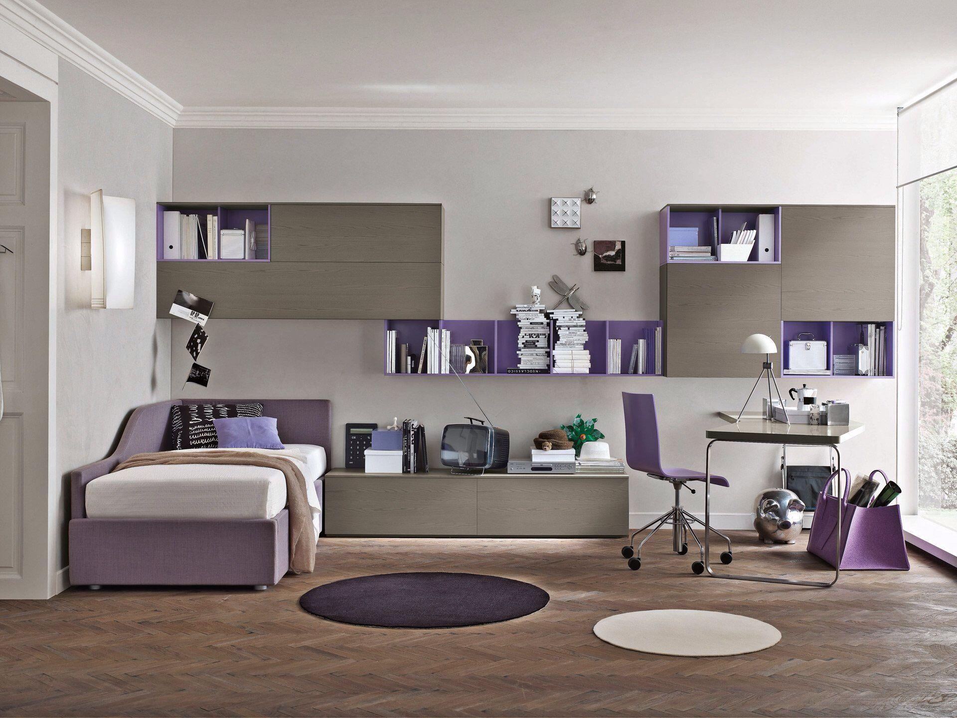 Cameretta lilla house nel 2019 chambre for Arredamento camera ragazzo