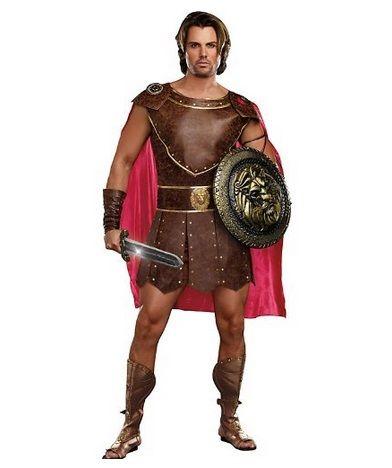 Hercules Gladiatoren Kostüm für Männer Cod.225216