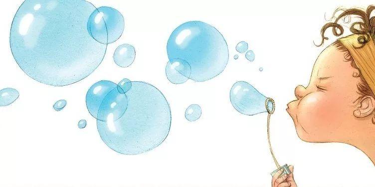 Картинка для детей мыльные пузыри на прозрачном фоне