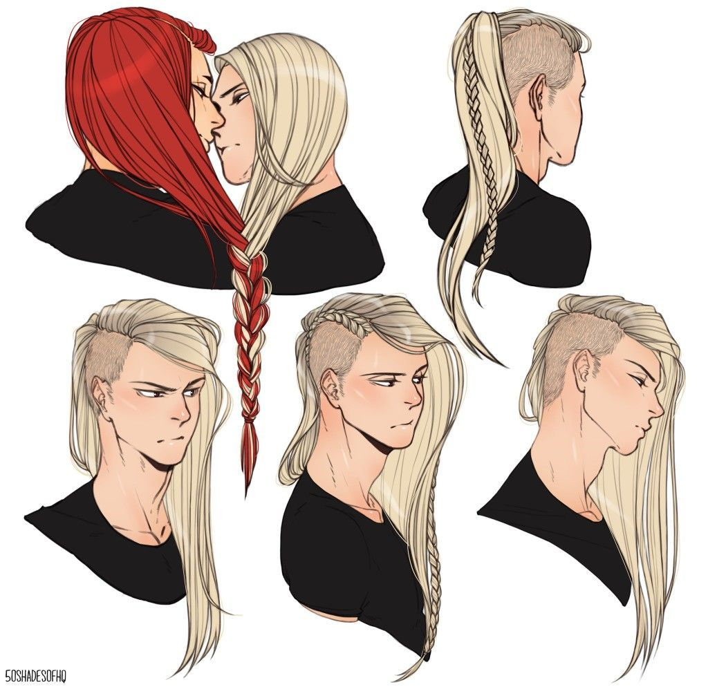 50shadesofhq How to draw hair, Character inspiration