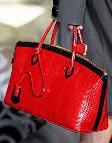 Louis Vuitton ~ just not in my budget, especially for red...but great GA colors...red with black...