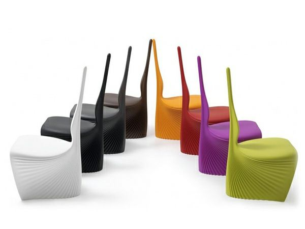 la chaise moderne et colore par ross lovegrove - Chaise Coloree