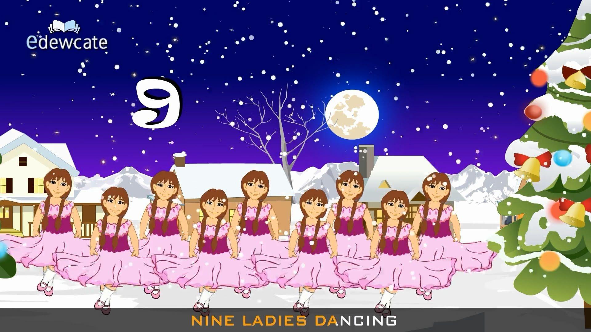 12 Days Of Christmas Songs For Kids Christmas Songs For Kids Days Of Christmas Song Christmas Carols Songs