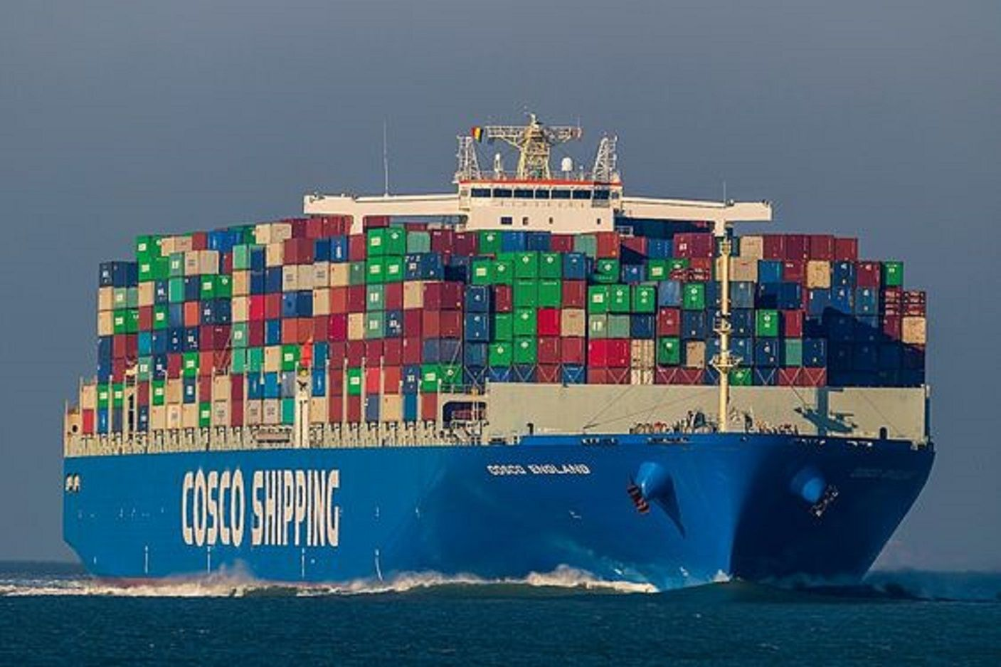 Cosco England In 2020 Cargo Shipping Maersk Line Water Crafts