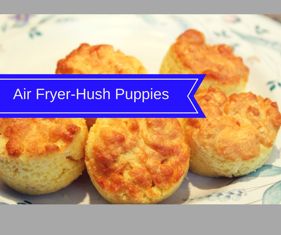 Air Fryer Easy Hush Puppies Fork To Spoon Recipe Recipes Air Fryer Recipes Air Fryer