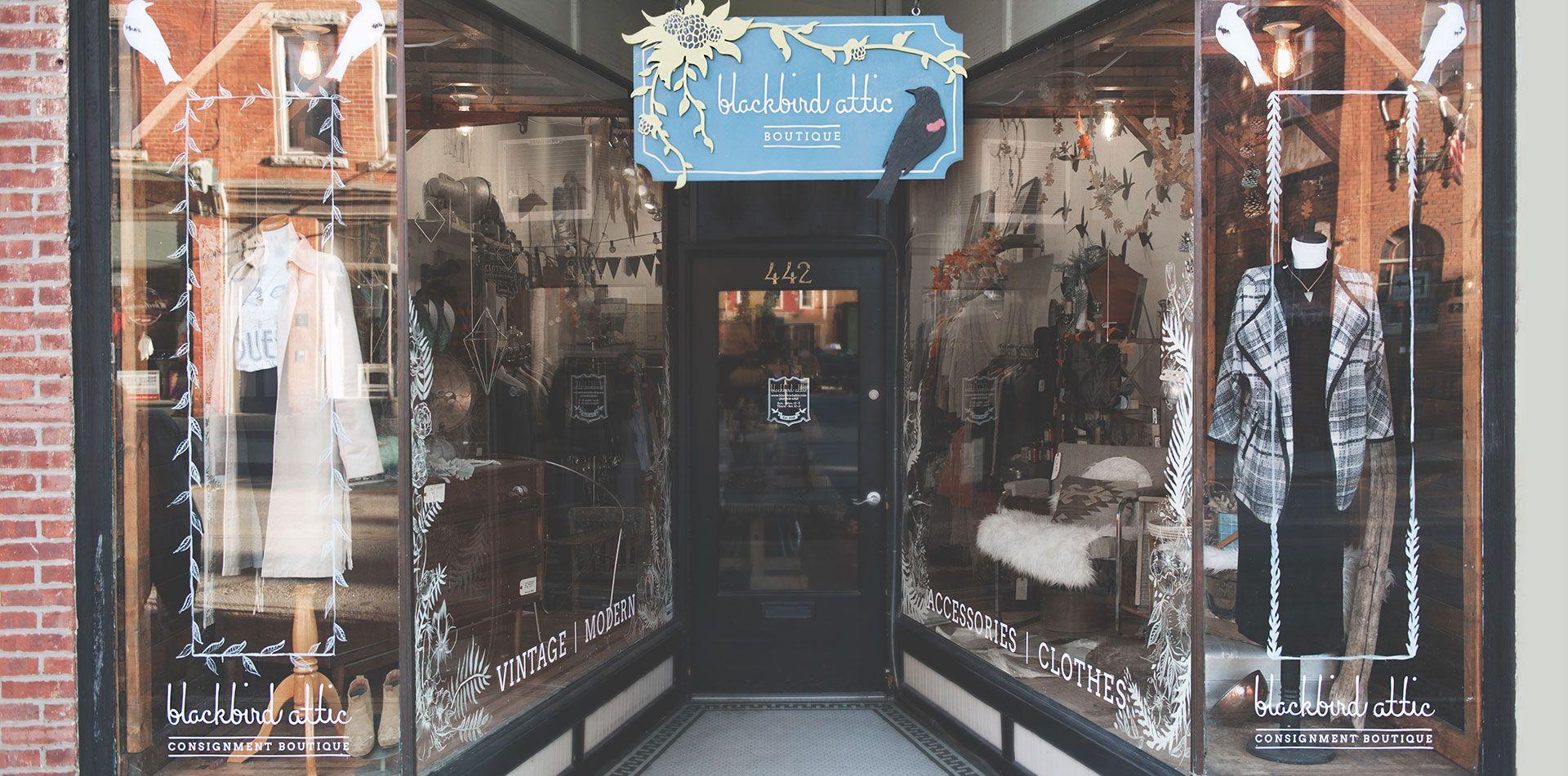 Blackbird Attic Repurpose Refine Relive Curated Consignment Boutique Consignment Boutique Relive Boutique