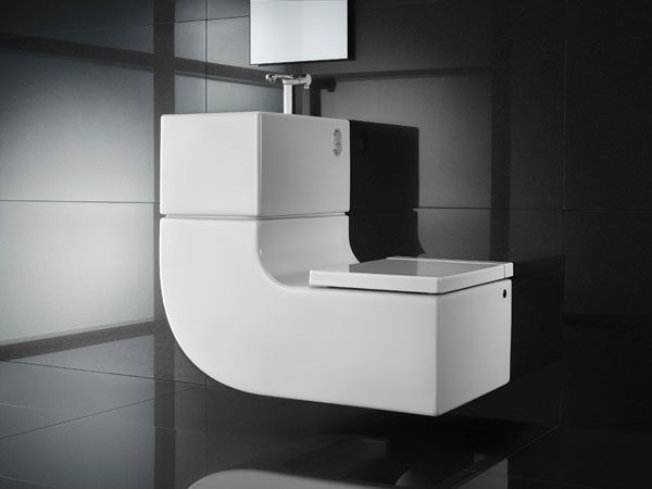 Eco-Friendly, Space-Saving Toilet  Washbasin Combo from Roca Our