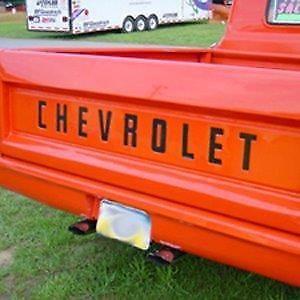 1958 1960 1963 1964 1966 chevrolet tailgate letter decals sale rh pinterest com