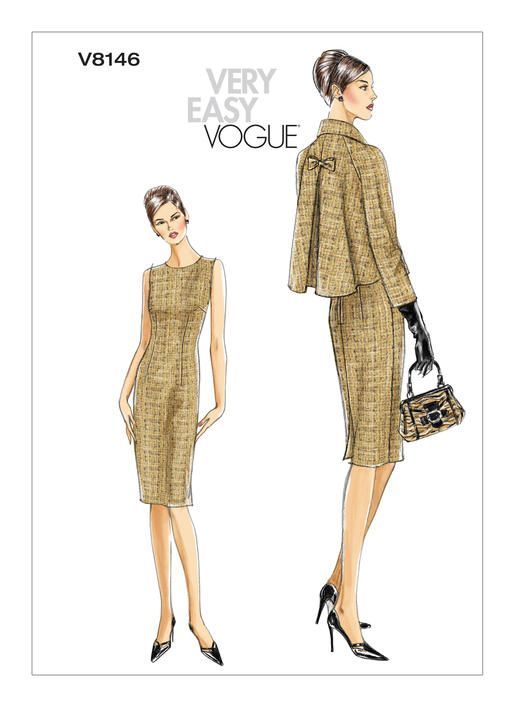 V8146 | Vogue Patterns | Vintage Patterns | Pinterest | Costura