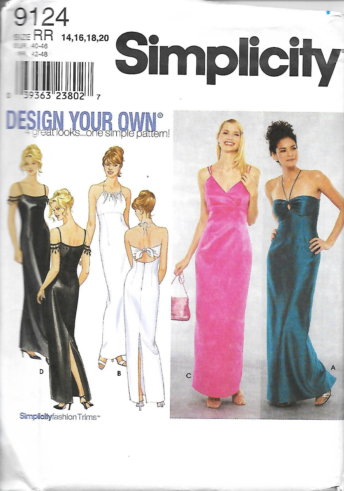 Prom Dress Sewing Patterns Simple Decorating Design