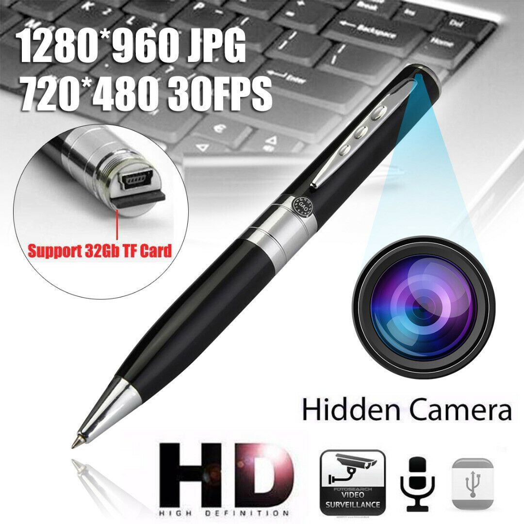 Kugelschreiber Spycam Stift Pen Camcorder Digital Kamera USB Video HG