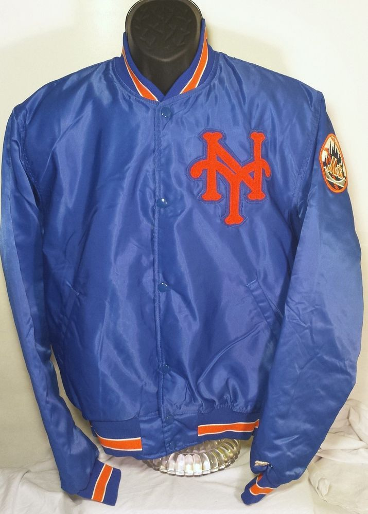 Vintage New York Mets Mens Large Starter Jacket Mlb Jackets Jackets New York Mets
