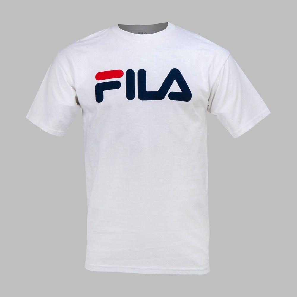 Playera Fila Printed Hombre (con imágenes) | Ropa casual de ...