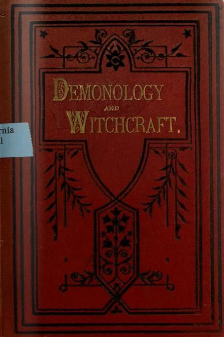 Walter scott demonology and witchcraft cd7 id2038005131