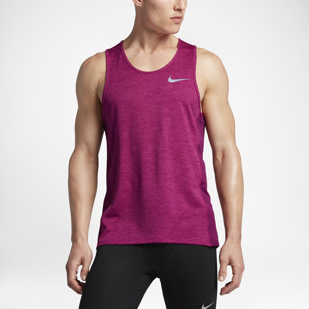 fd83948e Nike Breathe Men's Running Tank Size Medium (Purple) | Products ...