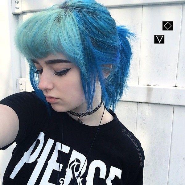 Cabello azul video
