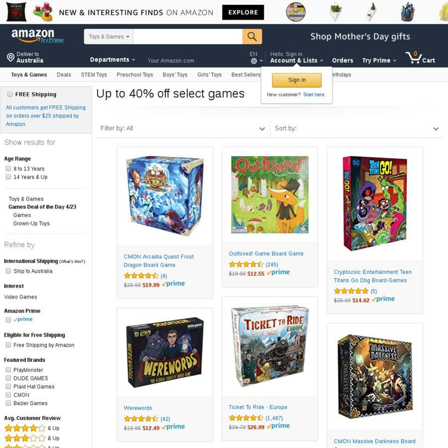US Tabletop Game Sale Terraforming Mars 35