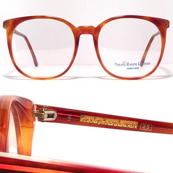 037f567617e09 Fabulous vintage Ralph Lauren Polo frame! Made in Italy 1980 s Unique Amber  tortoise color Original sample lenses included. Frame is in excellent  condition ...