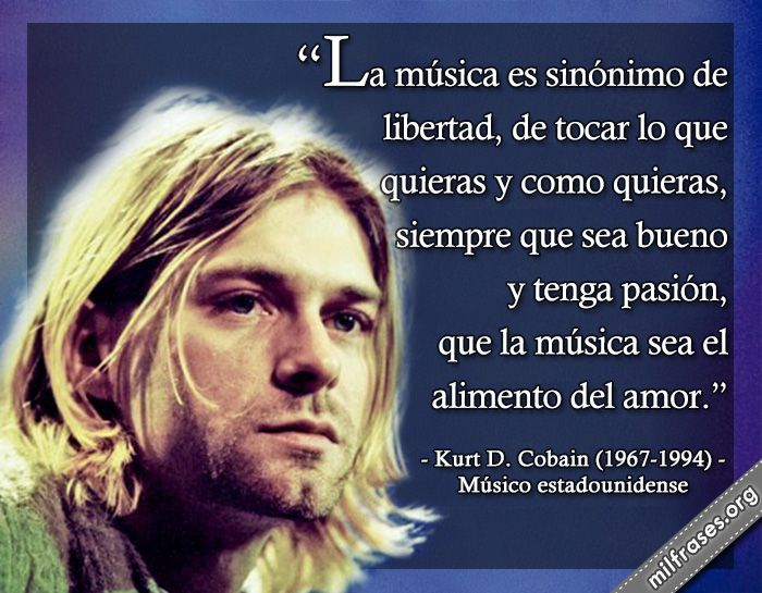 Kurt D. Cobain, músico estadounidense