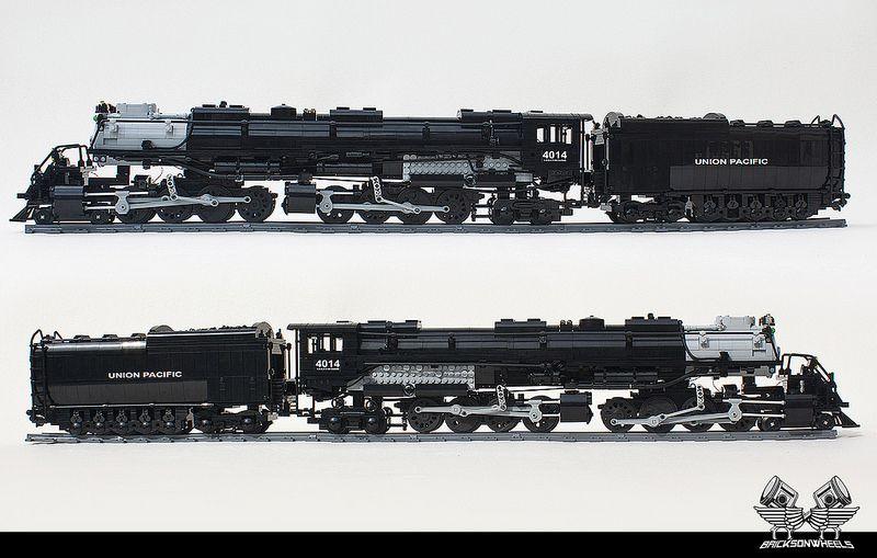 lego union pacific big boy in 1 38 lego locomotive lego lego